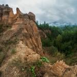 Bośnia, piaskowe piramidy