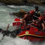 Bośnia, rafting na rzece Unie