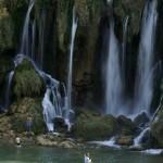 Bośnia, wodospad Kravice