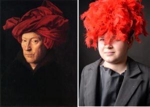 Jan van Eyck - Mężczyzna w czerwonym turbanie